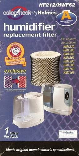 Holmes Humidifier Filter HF212/HWF62 by Holmes. $25.00. Fits Holmes humidifiers: HM1230; HM1280; HM1285; HM1295; HM1296; HM1700; HM1760; HM2408