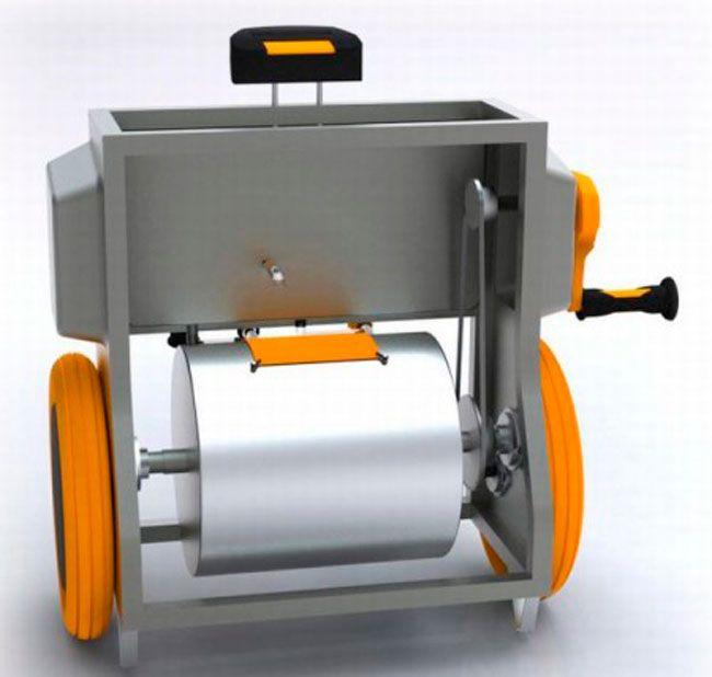 manually operated washing machine