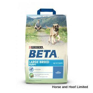 Beta Large Breed Puppy with Turkey 2 5kg Beta Large Breed Puppy with Turkey has been developed to support natural growth the healthy building of joints, muscles & other structures that lay the foundations for adult life.