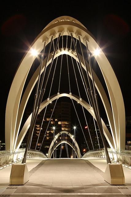 Yarra footbridge, Melbourne