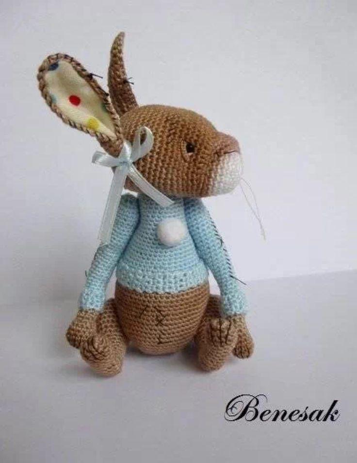 444 besten Crochet / knit rabbit, bunny Bilder auf Pinterest | Hase ...