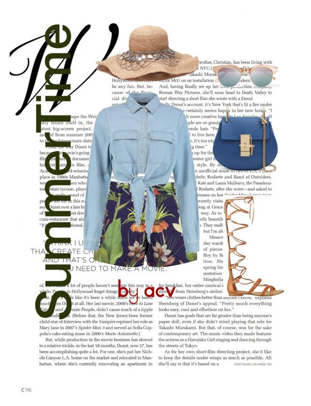"""SummerTime"" by amparo-calbacho on Polyvore featuring moda, Penfield, GUESS y Le Specs"