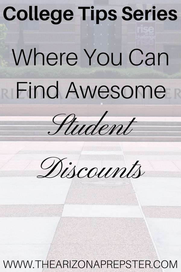 College is expensive enough, many students may not have much spending money. It is important to find and use those student discounts! There are many benefits to being a student, so take advantage of that student ID and get those discounts!