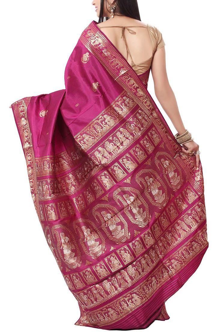 Gorgeous Baluchari Silk Saree