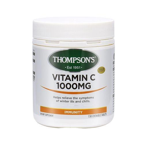 톰슨 비타민 C 1000mg 150정