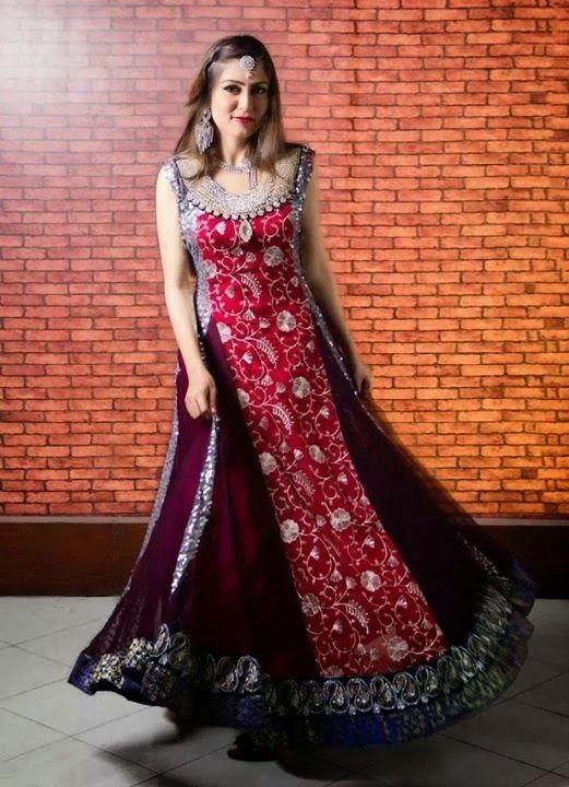 Eid Special Mehndi Designs Collection & Shalwar Kameez Designs Collection 2014 2015: Bridal Salwar Kameez