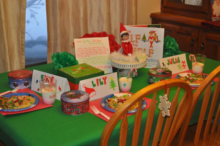 Introducing the elf with a North Pole breakfast