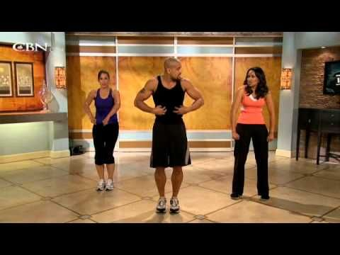 Shaun T, the guy who started INSANITY workouts, on the 700 Club 4:15