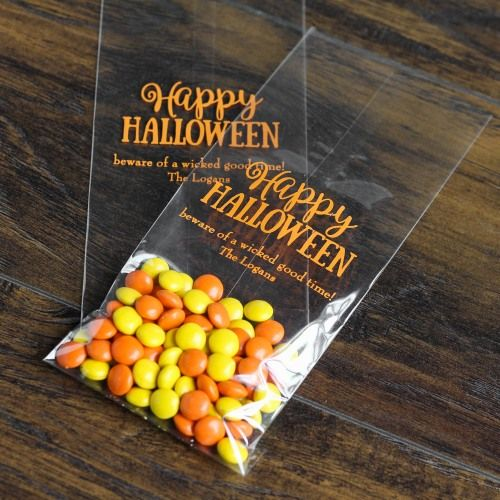 Personalized Party Cellophane Bags by Beau-coup