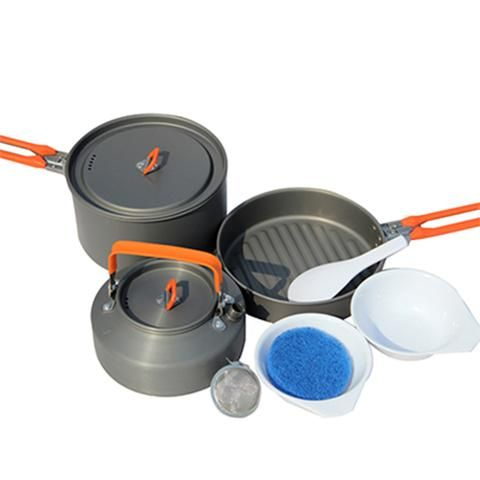 Quality non adhesive Pots And Pans Set Medium Pot & Frying Pan & Tea Pot - You can get it here at a cheap price http://www.bettermekitchen.com