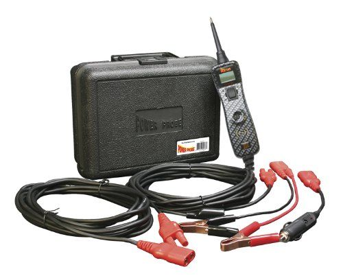 POWER PROBE III W/ Case & Acc - Carbon Fiber (PP319CARB) [Car Automotive Diagnostic Test Tool Power Up Electrical Components Digital Volt Meter ACDC Current Resistance Circuit Tester LCD Screen Flashlight Short Circuit Indicator Audible Tone]. For product info go to:  https://www.caraccessoriesonlinemarket.com/power-probe-iii-w-case-acc-carbon-fiber-pp319carb-car-automotive-diagnostic-test-tool-power-up-electrical-components-digital-volt-meter-acdc-current-resistance-circ