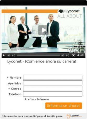 Lyconet - �Comience ahora su carrera!