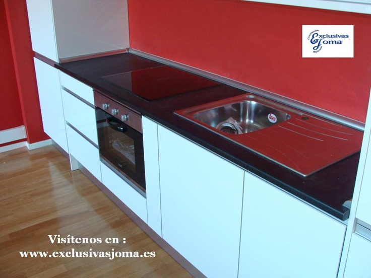 126 best reformas de cocinas 3 0 images on pinterest chalets cottages and kitchen units - Encimera cocina bricomart ...