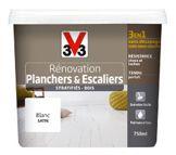 peinture parquet et escaliers bois vernis et stratifié de V33 de 2 litres. existe en pot de 0.75l