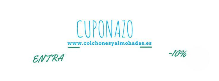 """Envianos un correo a info@colchonesyalmohadas.es con la palabra """"Cuponazo"""" para disfrutar de la promoción :)"""