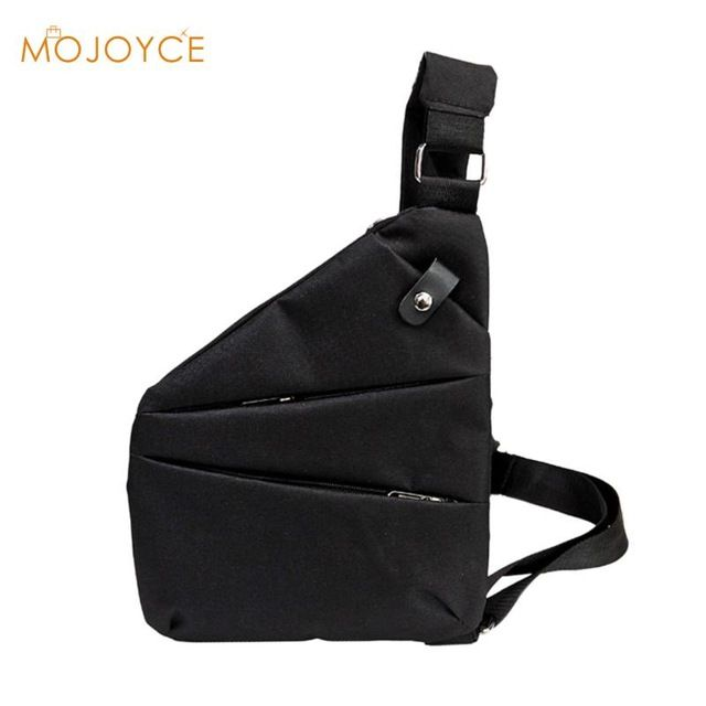 Daily Offers $7.58, Buy MOJOYCE Anti-Theft Shoulder Chest Bags Casual Man Sling Canvas Chest Bag Multifunctional Small Fashion Male Crossbody Bags