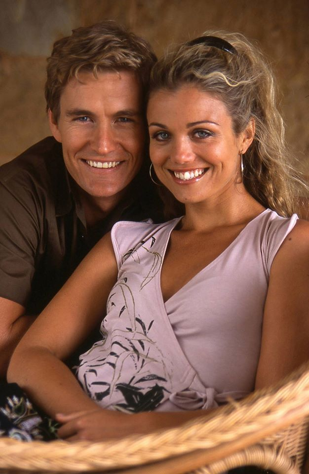 Brett Tucker, Bridie Carter.