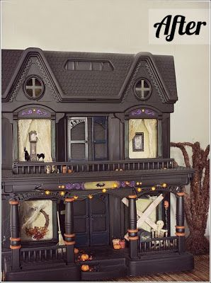 Turn a Doll House into something else, even a castle or something...Life as a Thrifter