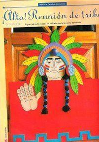 Colorear: Ideas para Preparar fiesta infantil de Indios