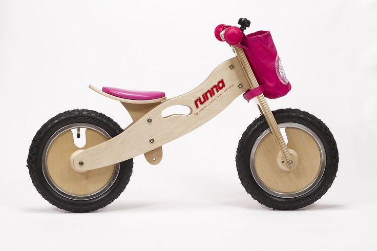 Runna Bike cor de rosa! <3 #bicicleta #bikedeequilibrio