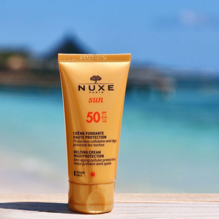 Crème Fondante Visage SPF 50 NUXE Sun #NUXE #NUXESun #Sun #Summer #Holiday #Beauty