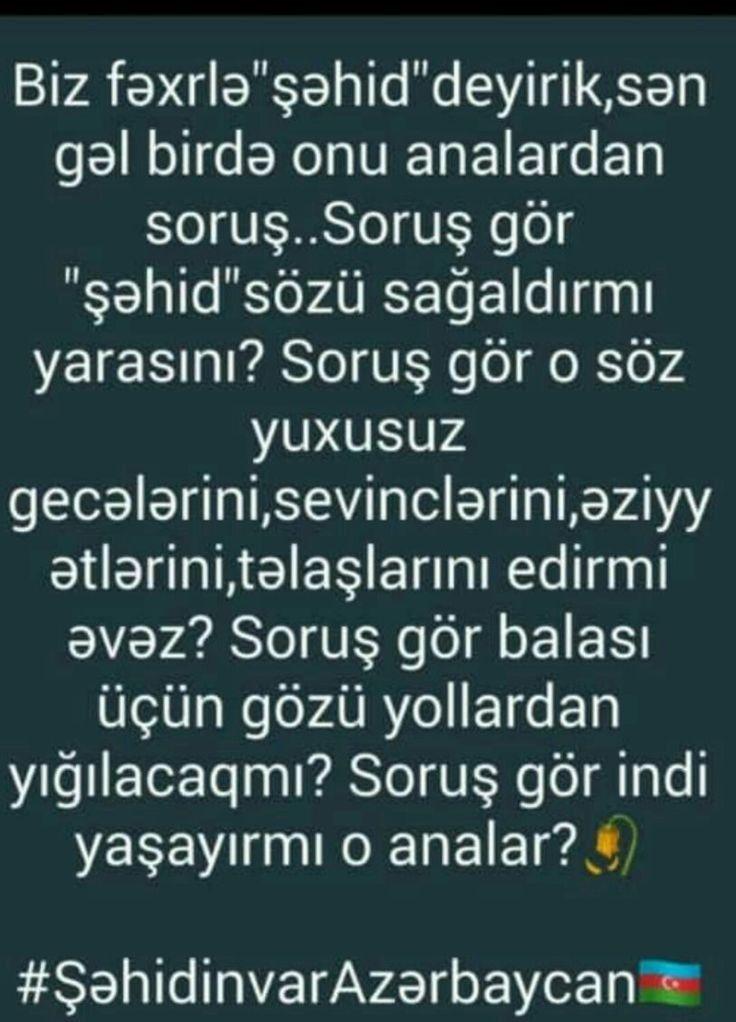 Haqqinizi Halal Edin Birda San Azerbaijan