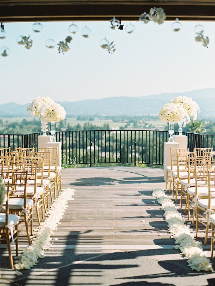 Wedding ceremony idea; Photo: Sylvie Gil Photography