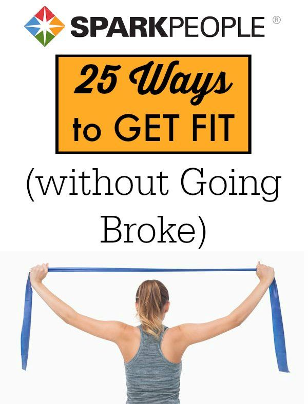 25 Ways to Get Fit for Less Than $25 via @SparkPeople