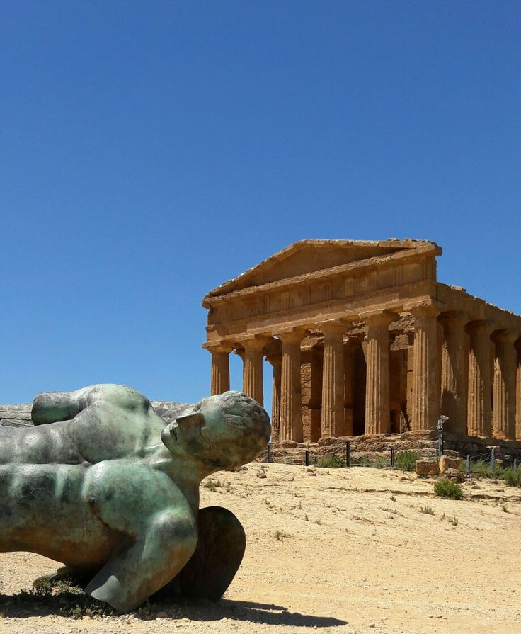 Valle dei Templi, Agrigento.