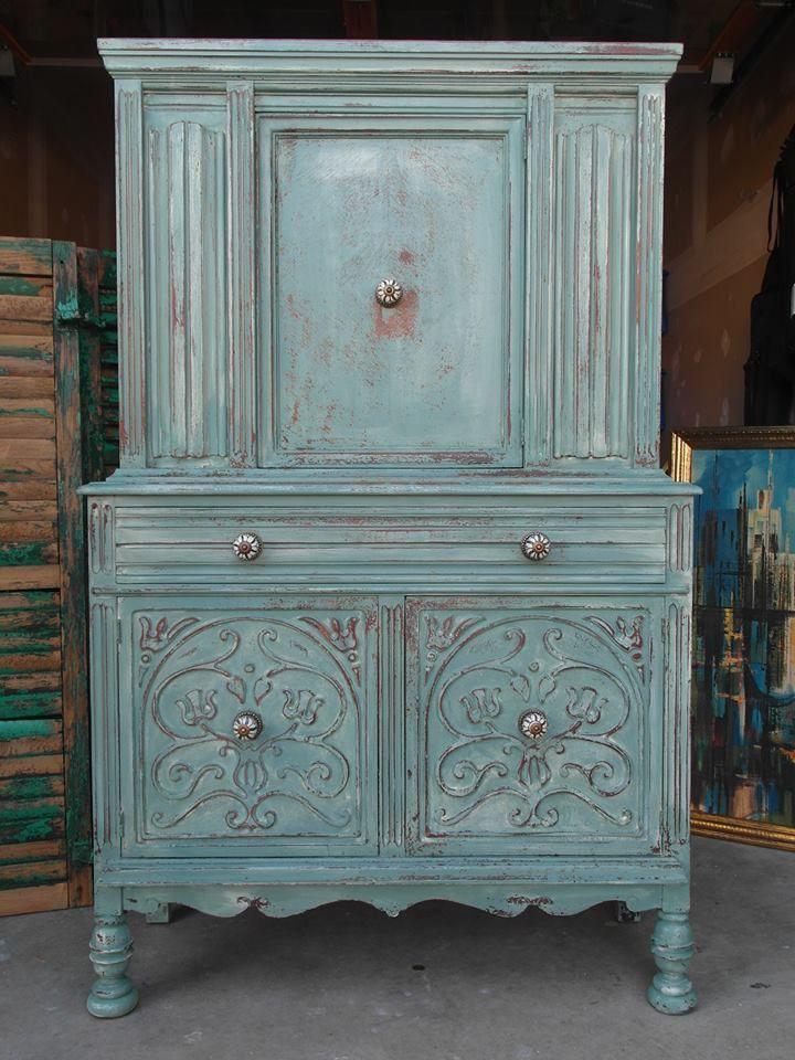 672 best milk paint furniture images on pinterest for Pinterest painted furniture
