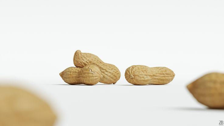 Peanut 3D model is available here:  https://3docean.net/item/peanut-002/20529838