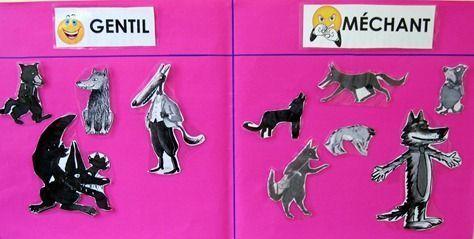 Projet de littérature comparée sur le loup : j'adore !