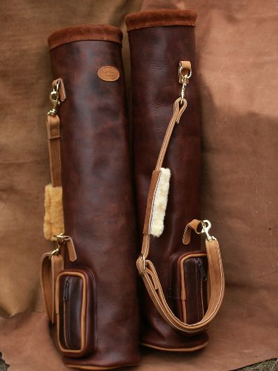 Leelanau Leather Golf Bag Made In Usa Pinterest Bags And Gifts