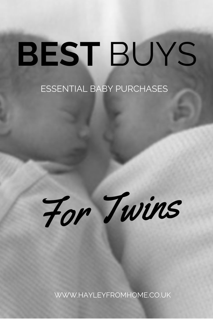 Twin Mum sharing her best buys for new born twins. The best Twin essentials for the first six months.