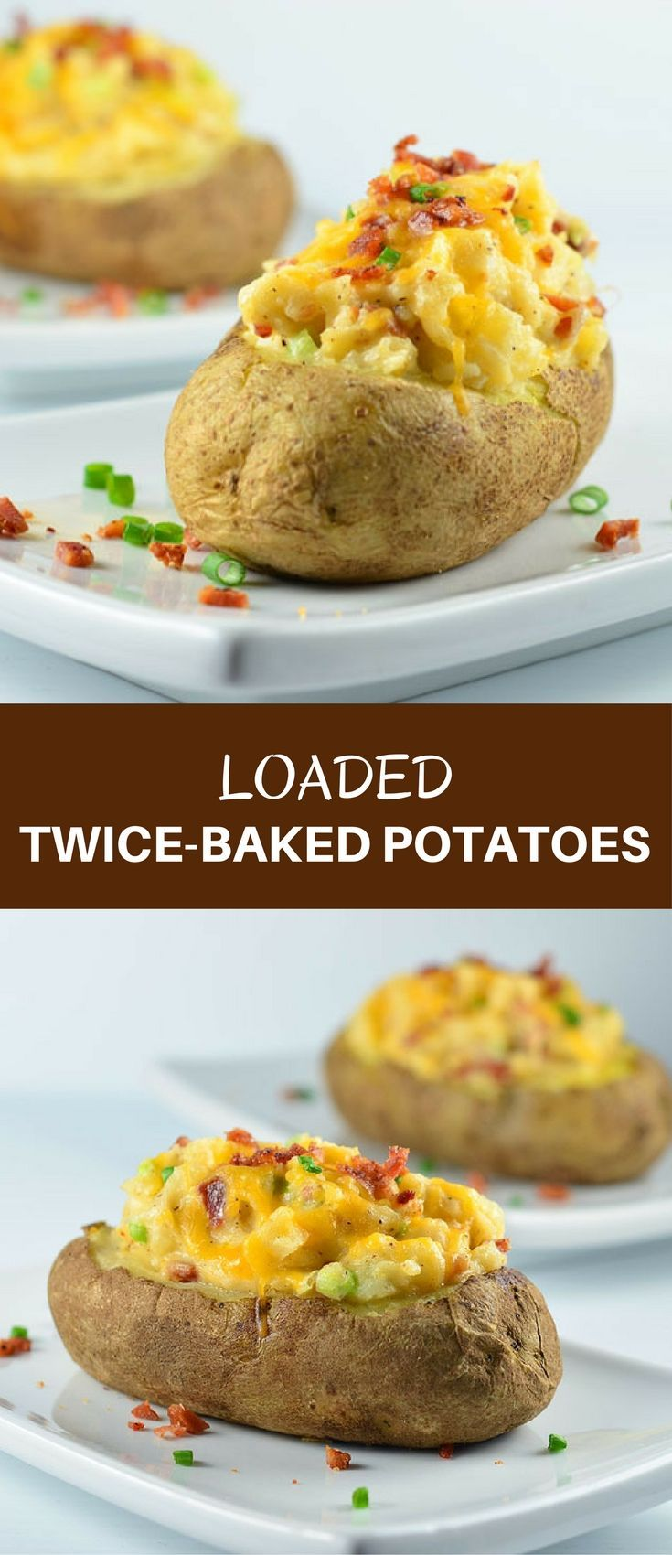 twice baked potatoes loaded baked potatoes recipe green onions 30819