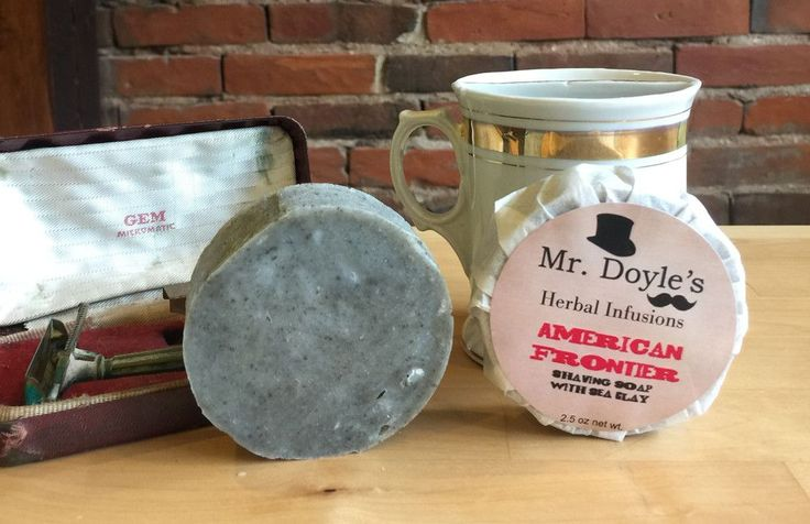 American Frontier Herbal Infused Shaving Soap