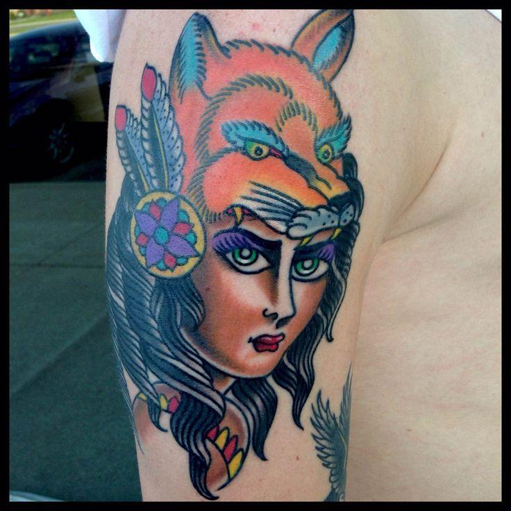 Fox tattoos old school google search fantastic foxes for Tattoo school listings