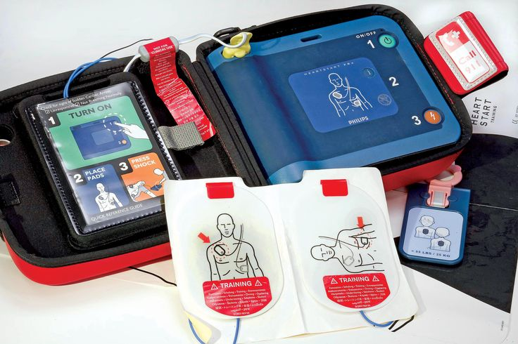Automated External Defibrillator | American COP | Click for more info: http://americancopmagazine.com/automated-external-defibrillator/ | #american #cop #magazine #defbrillator