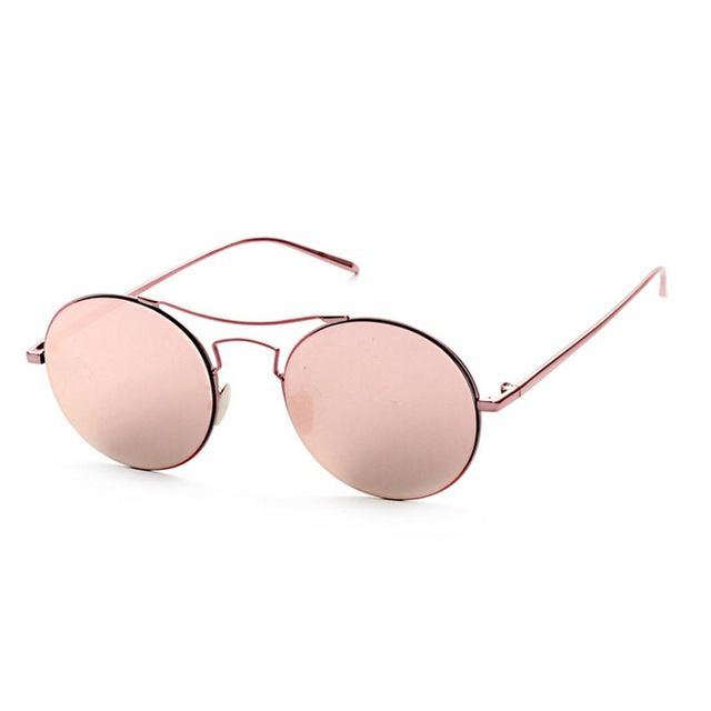 Top Quality Metal Frame Designer Sunglasses Men Round Reflected Sun glasses Brand Women Retro Sun Glasses Tag a friend who would love this! Visit us