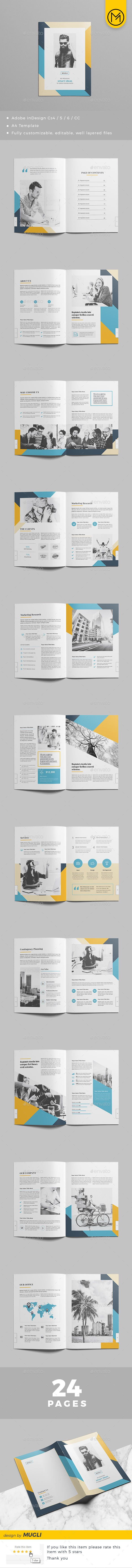 Brochure #professional #report • Download ➝ https://graphicriver.net/item/brochure/21313443?ref=pxcr