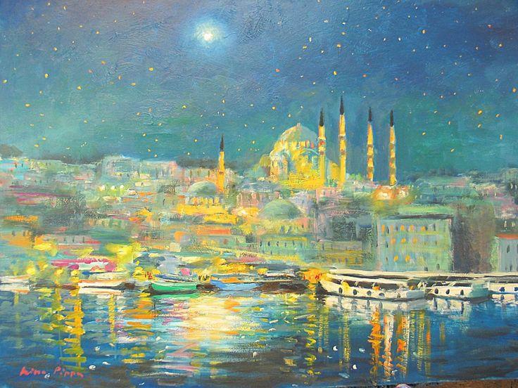 Istanbul Remembering Van Gogh - Nino Pippa
