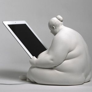 Love this...Venus iPad Docking Station, 185€, now featured on Fab.