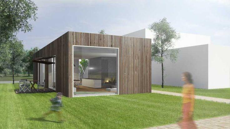 Bungalow hout google zoeken vakantiehuis duinlandschap for Architekten bungalow modern