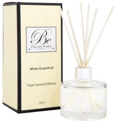 Be Enlightened Diffuser's Also available in a range of fragrances. The art of perfume was created to awaken your forgotten senses and make everyday living even more beautiful.