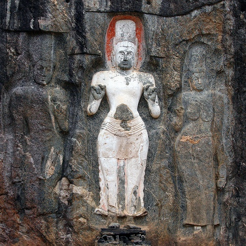 Best images about buduruwagala rock carving on