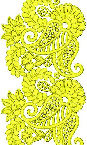 Simply Hyderabad Clothing Embroidery Design