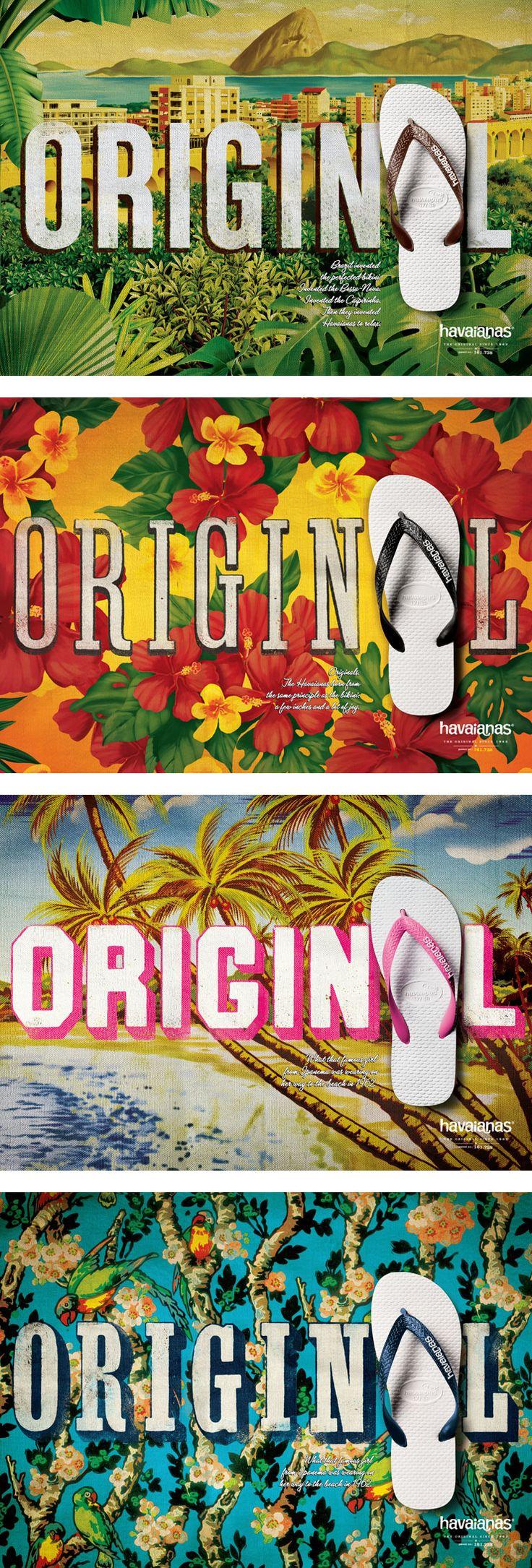 Um mix de imagens representando o Brasil e sua originalidade.