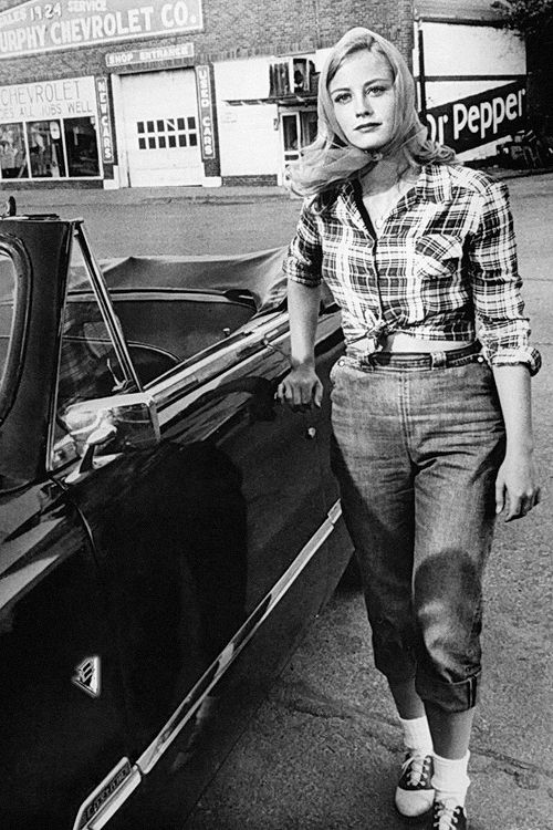 "Cybill Shepherd in ""The Last Picture Show"" [1971]"