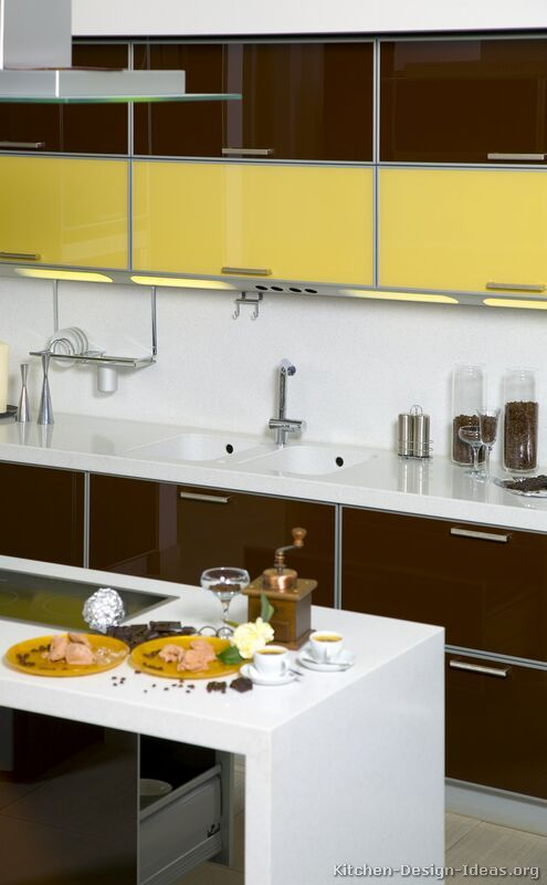 Browse Through Pictures Of Kitchens In Our Gallery Of Modern Two Tone Kitchen  Cabinets.