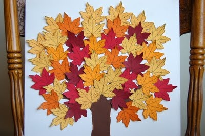 """making an """"acts of service"""" tree - get all the leaves to """"fall off"""" by doing kind things for others!"""